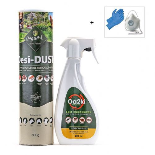Organic Cockroach Kill and Control Treatment Kit